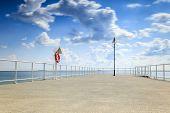 Pier By Seaside.