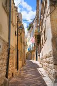 Alleyway. Altamura. Puglia. Italy.