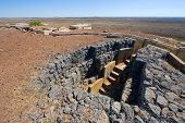 picture of golan-heights  - Entrance of a bunker on  - JPG