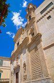 Church of St. Chiara. Altamura. Puglia. Southern Italy.