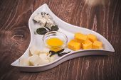 Cheese Platter With Jam
