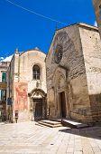 Church of St. Nicolo dei greci. Altamura. Puglia. Italy.