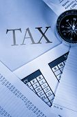 Operating Budget, Calendar, Stopwatch And Tax