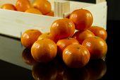 Mandarins In Crate