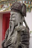 Thai Guard Statue