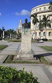 Monument niar the Capitolio. Havana. Cuba.