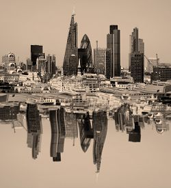 pic of willy  - City of London one of the leading centres of global finance.This view includes Tower 42 Gherkin,Willis 