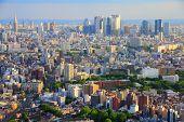 picture of ward  - Tokyo skyline  - JPG