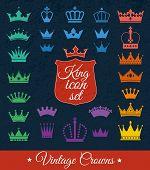 image of crown jewels  - Crowns set  - JPG