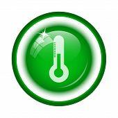 foto of fahrenheit thermometer  - Thermometer icon - JPG