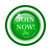 picture of joining  - Join now icon - JPG