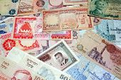 Middle Eastern Money Background