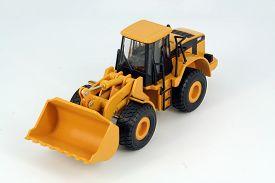 foto of dredge  - Yellow plastic dredge toy - JPG