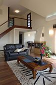 stock photo of scant  - Classic living room - JPG