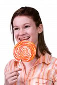 Licking A Lollypop