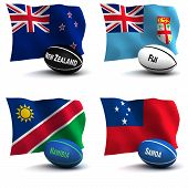 Rugby World Cup - Participating Nations
