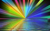 Colourburst On Water