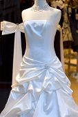 Wedding Dress On Display