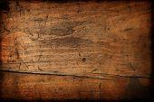 Textura de madera vintage oscura