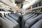Men's suit store