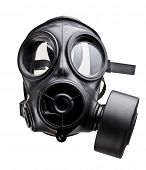 picture of gas mask  - fine image of classic british army gas mask - JPG