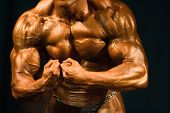 Bodybuilder Most Muscular Pose