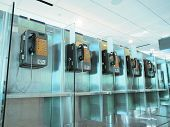 Public phone in the airport