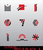 Design Elements - Logos. They are ideal for your design and creation of trade marks