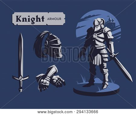 Knight And A Set Of