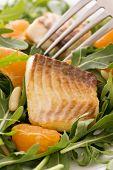 Rocket Salad with Tilapiini