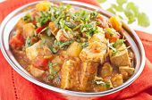Paneer vegetable jalfrezi