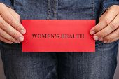 Womens Health Concept poster