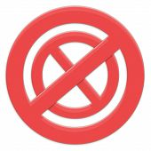 Sign Forbidding To Forbid