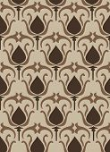Vintage Flower Pattern - Seamless