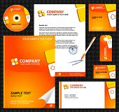 Editable corporate Identity template 1.