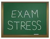 Exam Stress Concept.