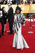 LOS ANGELES, CA - JAN 29: Cicely Tyson at the 18th annual Screen Actor Guild Awards at the Shrine Auditorium on January 29, 2012 in Los Angeles, California