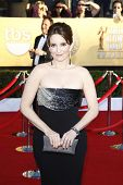 LOS ANGELES, CA - JAN 29: Tina Fey at the 18th annual Screen Actor Guild Awards at the Shrine Auditorium on January 29, 2012 in Los Angeles, California