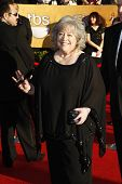 LOS ANGELES, CA - JAN 29: Kathy Bates at the 18th annual Screen Actor Guild Awards at the Shrine Aud