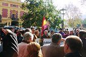 Demonstrationen in Sevilla