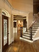 Luxury Foyer With Glass Door 3