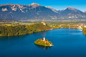 Lake Bled, Slowenien
