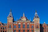 Постер, плакат: Амстердам Centraal Нидерланды