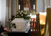 Funeral ataúd