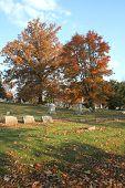 Autumn Cemetary