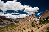 Kee Monastery In Spiti Valley