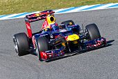 Equipo F1 de Red Bull, Mark Webber, 2012