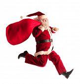 Santa Claus funcionando