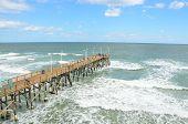 Muelle de la famosa playa de Daytona