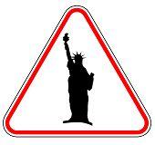 Liberty Statue Sign